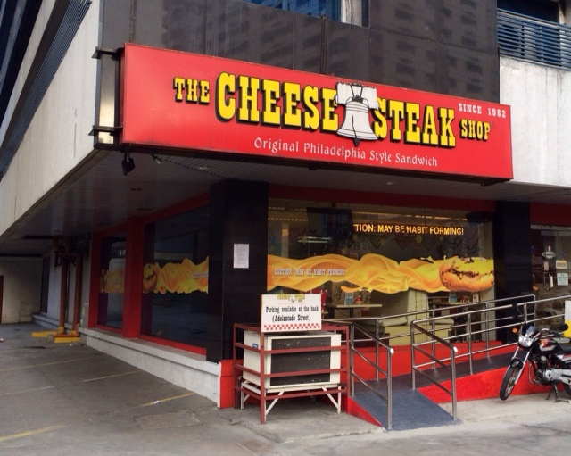 The Cheese Steak Shop, Manila, Philly Cheese Steak,