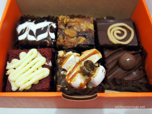 Brownies Unlimited Mississippi, Walnut Swirl, Sunburst  Red Velvet, S'mores, Choc O' Malt