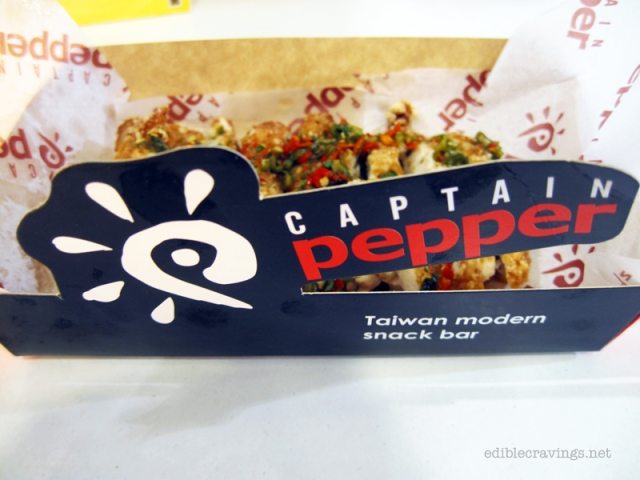 Thai Pepper Chicken Chop in Captain Pepper