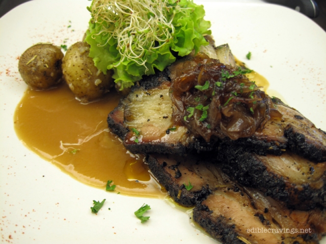 Pino Coffee Crusted Beef Belly