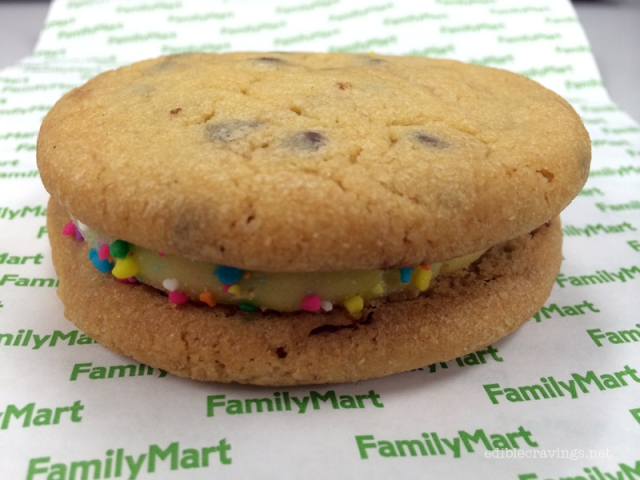 Family Mark Choco Chip Cookie Sandwich