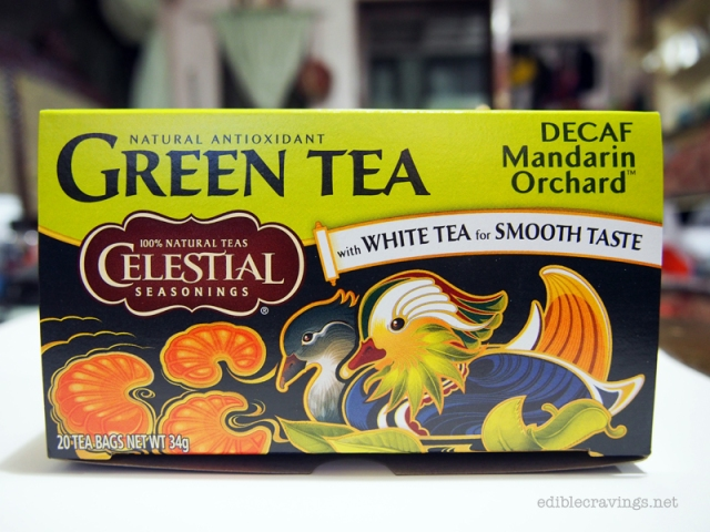 Celestial Seasonings, Decaf Mandarin Orange Green Tea