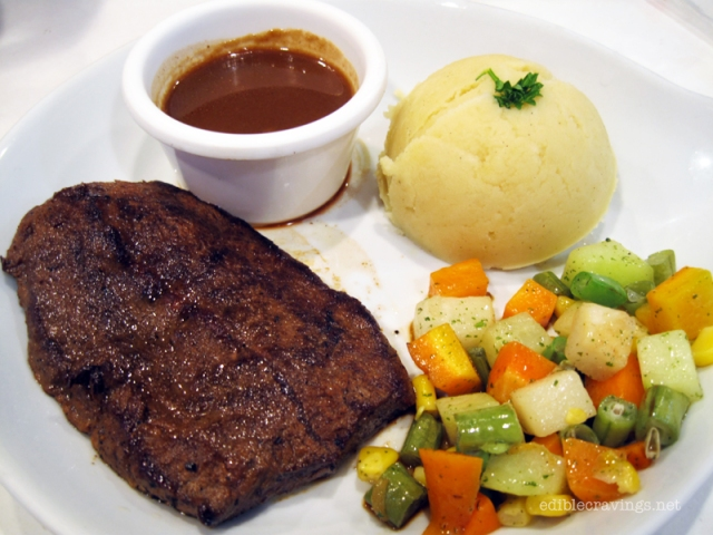 Kulinarya Experience, US Top Blade Steak with Red Wine Sauce