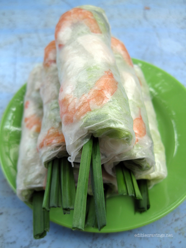 Lunch Lady Fresh Spring Rolls