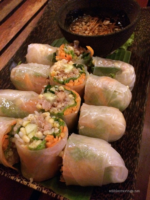 Cambodia Soup Restaurant Fresh Spring Rolls