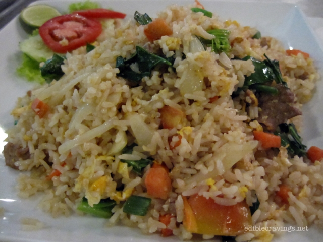 Fried Rice with Beef Vietnamese Style