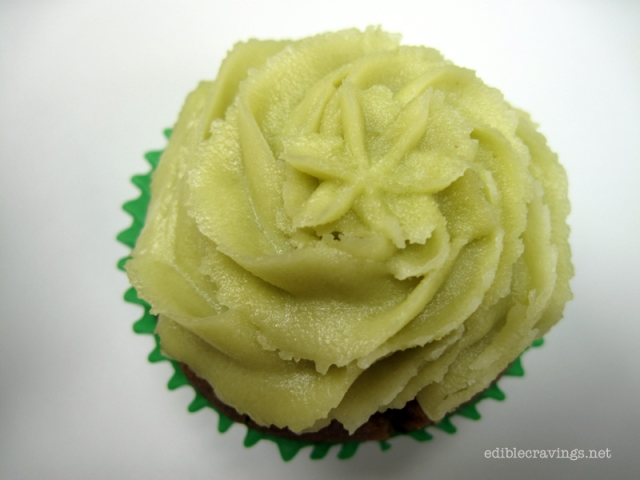 Pipino Vegan Green Tea Cupcake