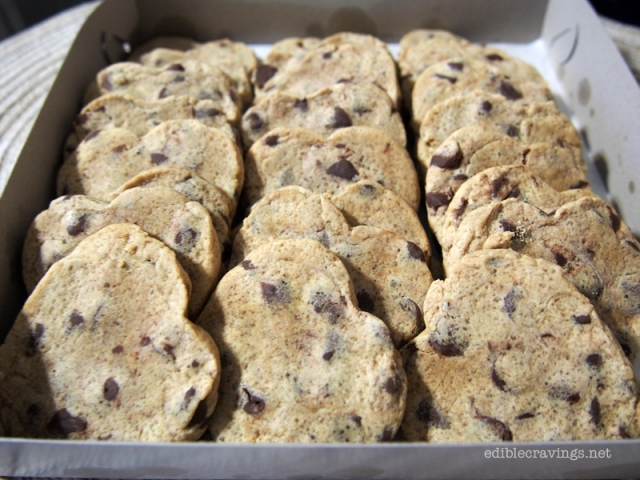 Signature Sweets by Mon & Pao Chocolate Chip Cookie Hearts