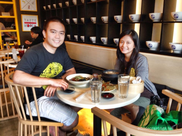 Ivan and Regina at Chef's Noodle SM North Edsa