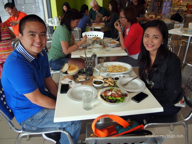 Lunch date with Ivan at Cibo Greenbelt 5