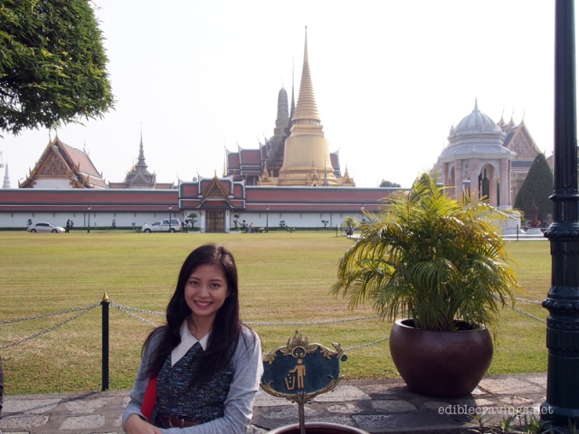 Outside Royal Grand Palace