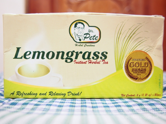 Mr. Pete Lemongrass Tea