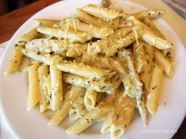 Pizza Hut Pesto Chicken Penne