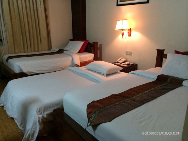 Angkor Pearl Hotel Superior Twin Room with Extra Bed