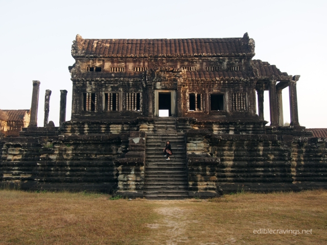 One of the Ruins in Angkor Wat